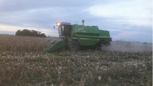 cosechadora optima 550