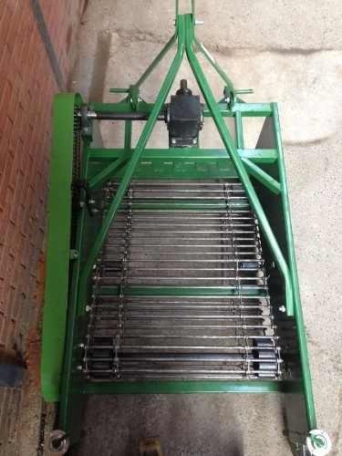 cosechadora papas tractor 90cm 2 hileras agricola tecnodeliv