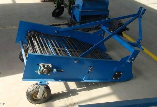 cosechadora papas tractor agricola 1 hilera 60cm tecnodeliv