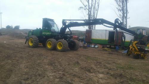 cosechadora prosesador harvester forestal jhon deere 1270d