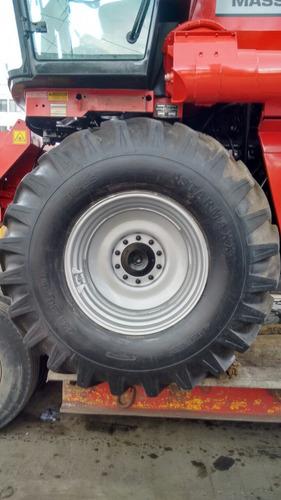 cosechadora trilladora massey ferguson modelo 5650 2012