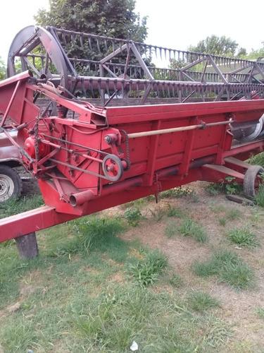 cosechadora vassalli 1200, 23 pies, excelente estado,1991