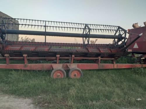 cosechadora vassalli 1200 con hydro motor deutz