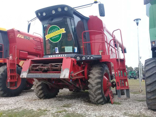 cosechadora vassalli ax 7500, 3200 hs, c/duales, 2011