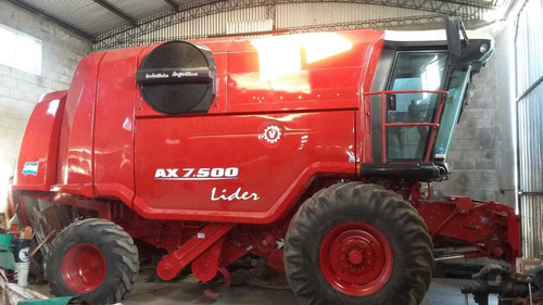 cosechadora vassalli ax 7500 lider