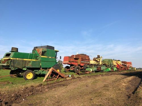 cosechadoras por partes, vendo y compro