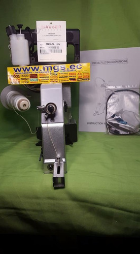 cosedora de sacos con lubricacion 110v marca mauser