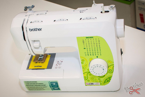 coser brother máquina