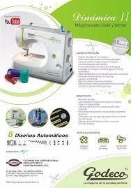 coser godeco maquina