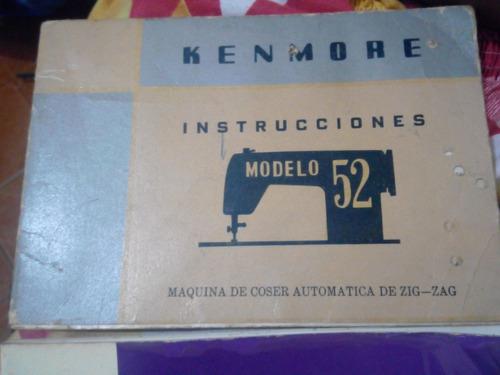 coser kenmore maquina