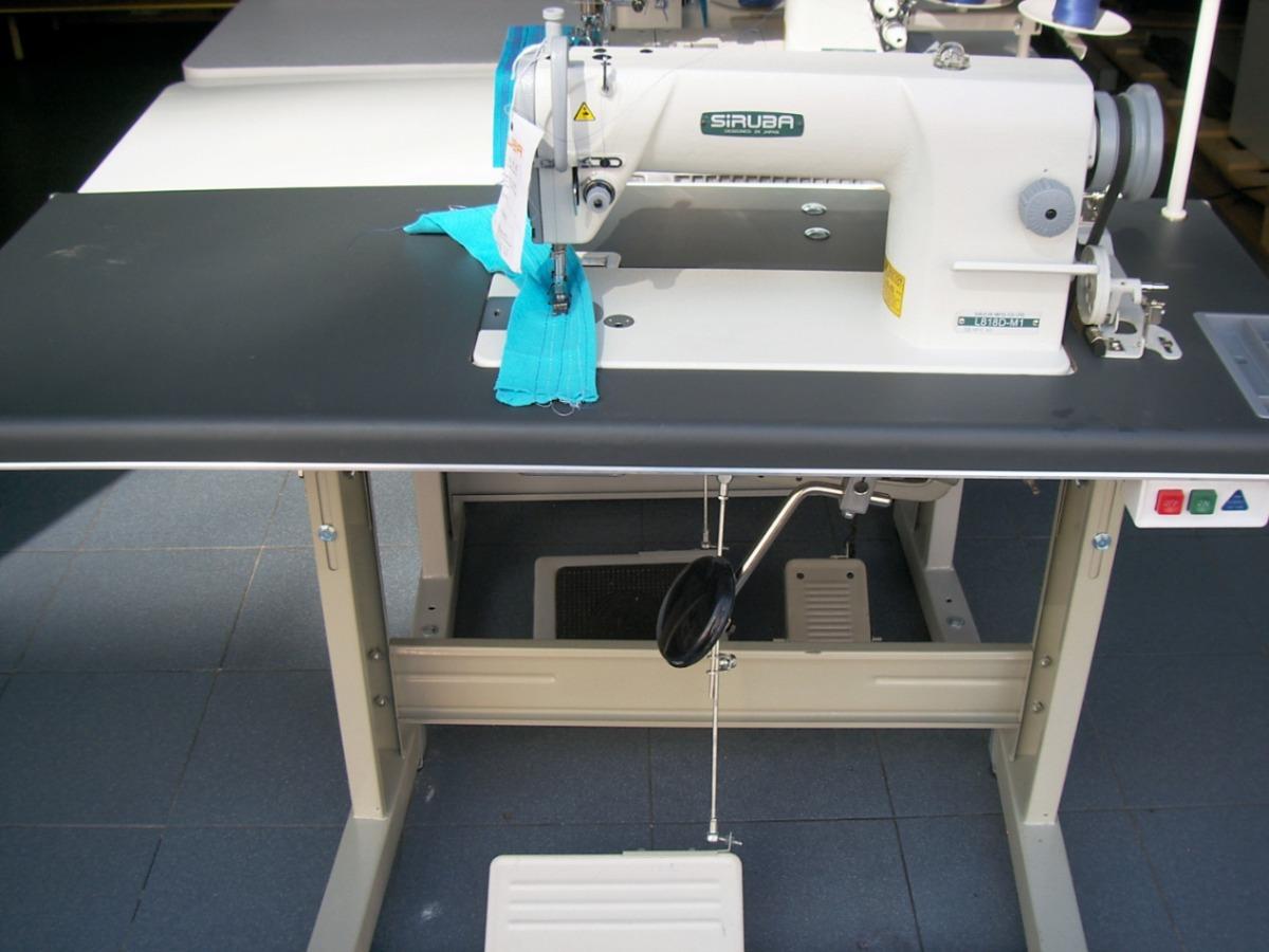 Maquina de coser alta velocidad costura recta marca siruba for Maquinas de coser zaragoza