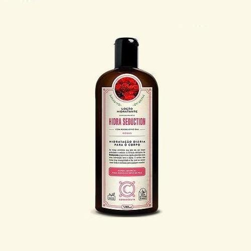 cosmeceuta - hidra seduction - loção hidratante - rosas