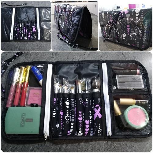 cosméticos maquillaje porta