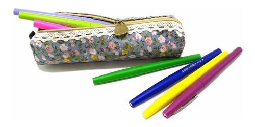 cosmetiquera - cartera lápices - cartuchera - portalapices