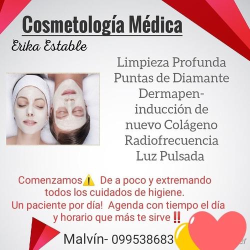 cosmetología médica. unisex. consulta sin costo!!
