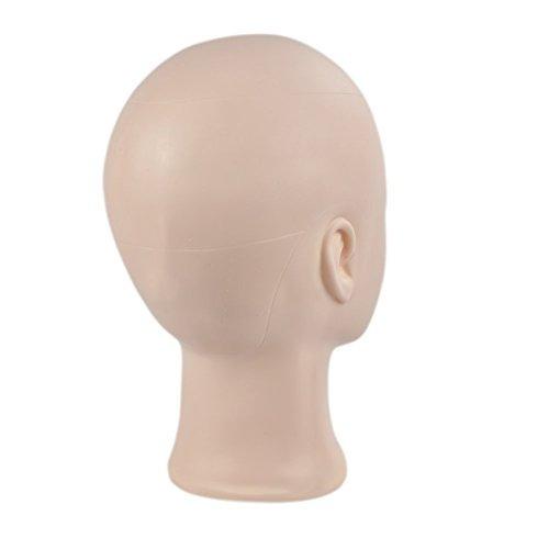 cosmetología profesional cabeza maniquí calvo maniquí modelo
