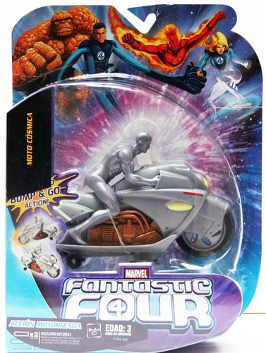 cosmic cycle deslizador de plata con moto electronico 2007