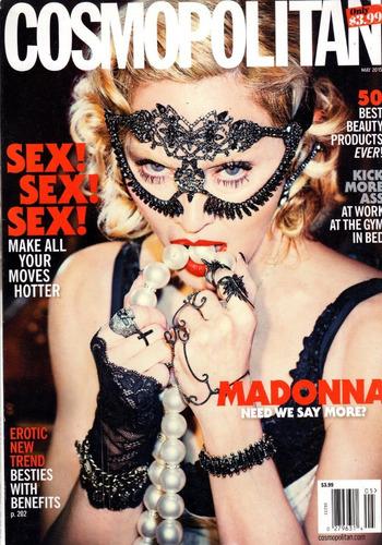 cosmopolitan us  revista madonna