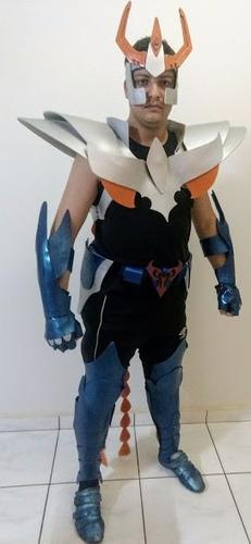 cosplay cavaleiros do zodíaco (ikki)