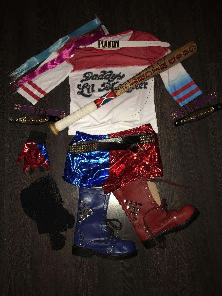 d8ddecd1ea4c7 Cosplay Harley Quinn Arlequina Completo - R$ 600,00 em Mercado Livre