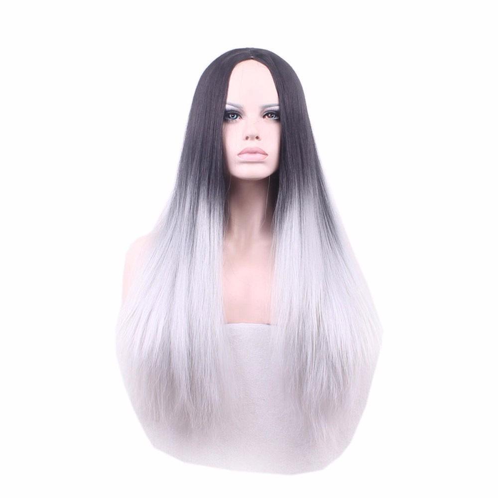 pelo largo blanco vaginal