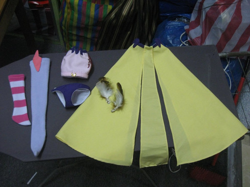 cosplay roupa jibril dollfie dream bjd