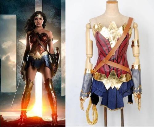 Cosplay Wonder Woman Simples Fantasia Mulher Maravilha R 139900