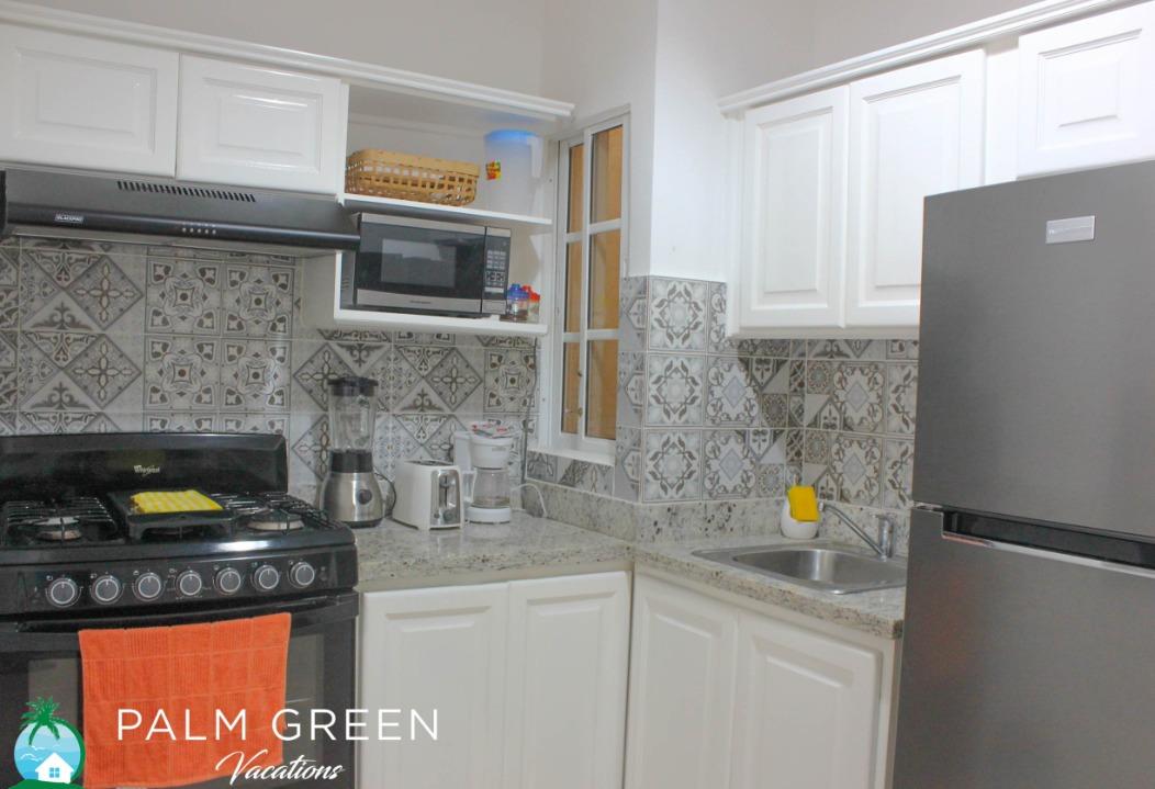 costa bavaro punta cana vacation rental 1br apartment 2 second floor - new