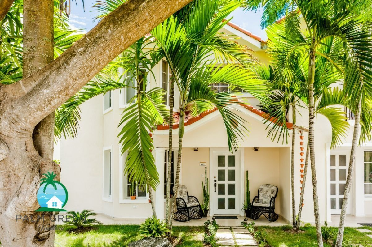 costa  bavaro  villa duplex  5 to the beach