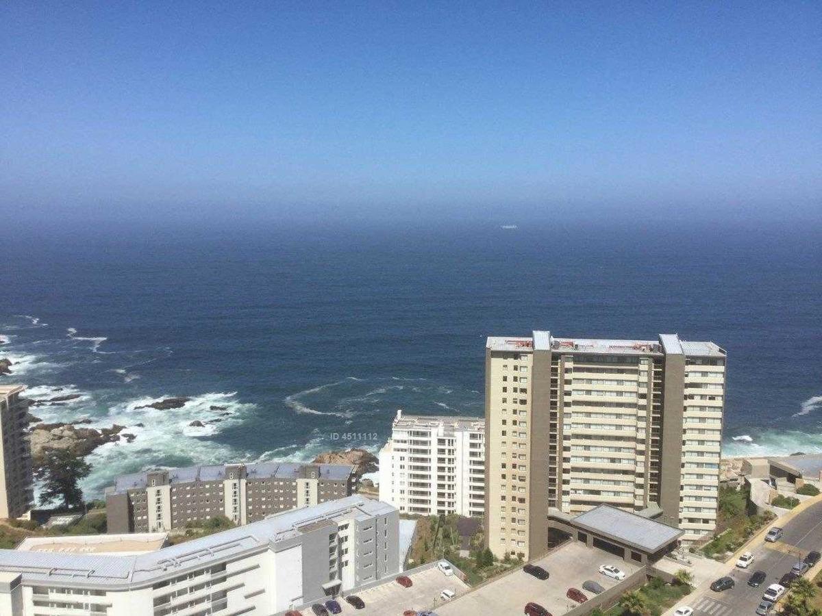 costa de montemar, excelente estado, espectacular vista al mar, 2 estacionamientos.