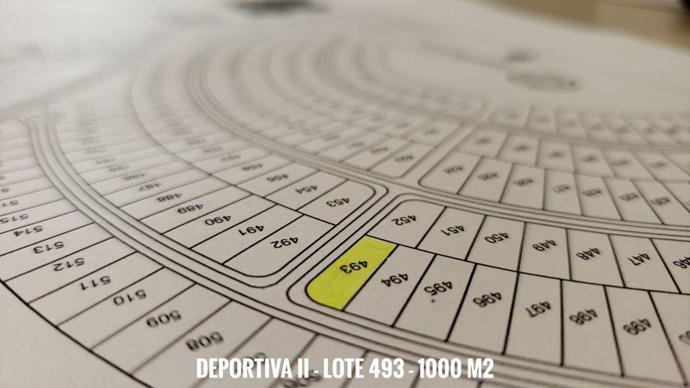 costa esmeralda - terreno en deportiva ii - lote 493