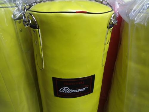 costal de box vinil grande amarillo palomares genuino fpx