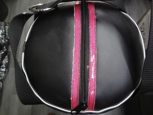 costal de box vinil mediano edicion pink palomares genuino