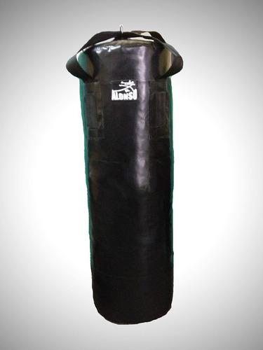 costal de boxeo y artes marciales 1.30m c/cinta *vacio*