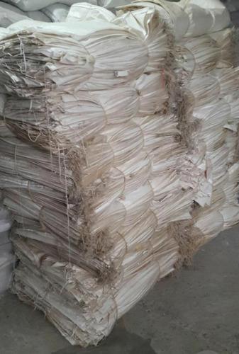 costales lonas empaque plastico usado. paquetes por 300 und.