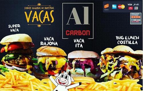 costillas ahumadas y hamburguesas al carbón eventos