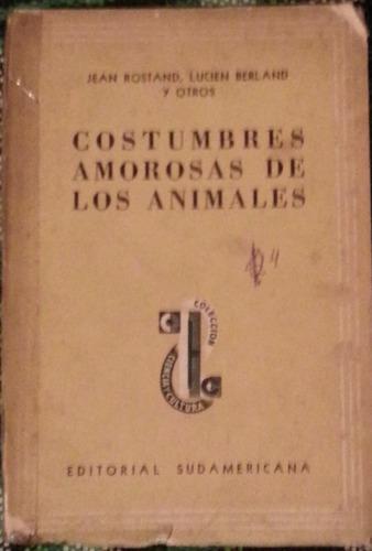 costumbres amorsas de los animales editorial sudamericana