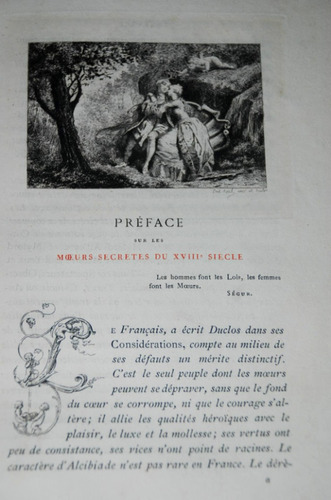 costumbres secretas francia. grabados 1883