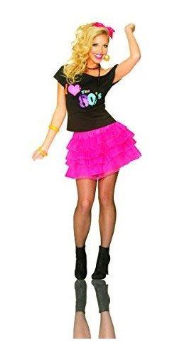 costume culture falda de enaguas para mujer de los años 80