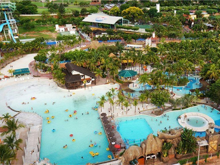 cota olímpia park resort - terma dos laranjais
