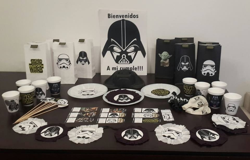 46c098ced Cotillón Cumpleaños Star Wars, Darth Vader - $ 880,00 en Mercado Libre