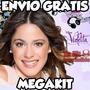 Kit Imprimible Violetta Diseñá Tus Tarjetas Para Tu Cumple!