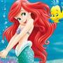 Kit Imprimible Y Candy Bar La Sirenita Princesa Ariel