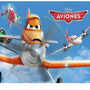 Kit Imprimible Aviones Disney Diseñá Tarjetas, Cumples Y Mas
