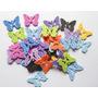 Mariposas, Formas En Goma Eva Decoracion, Paquete 50 Unidads