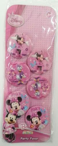 cotillón distintivo infantil mickey, minnie! piñata,rifa