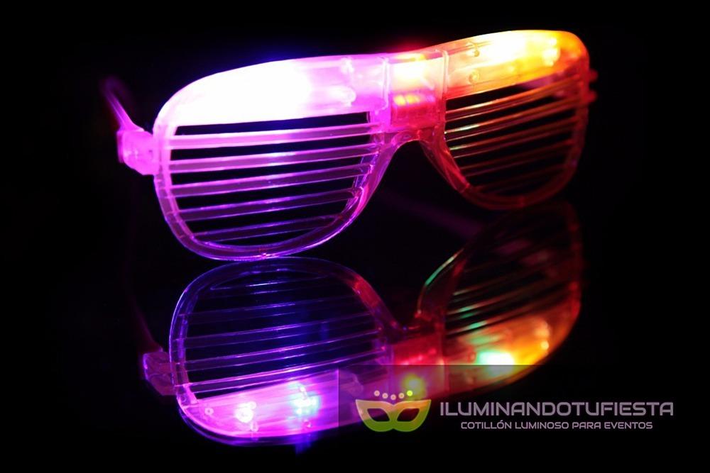 5917cc4439 Cotillón Luminoso Anteojos Flogger Led X 10 Gafa Rejilla Led - $ 495,00 en  Mercado Libre
