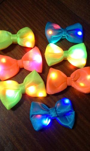 cotillon luminoso - moños - gorros personalizados fluo -
