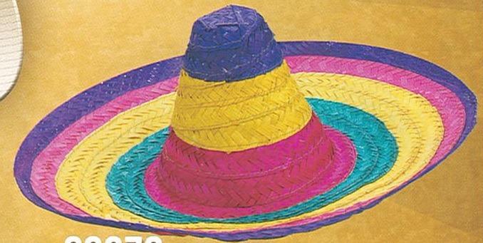 9373ec79a Gorro Cotillon Sombrero Mexicano Multicolor Fiestas - $ 179,00 en ...