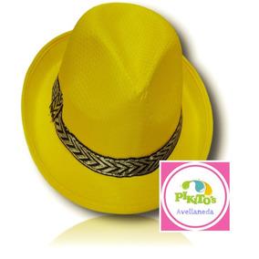 8b38e01b80738 Sombreros Panama Gaucho Luminoso Fluo - Cotillón en Mercado Libre ...